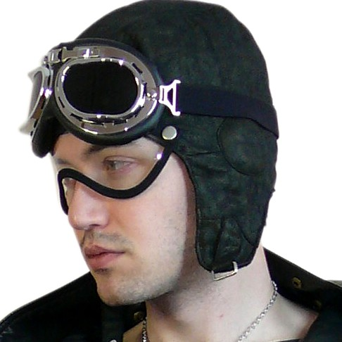 летный шлем.