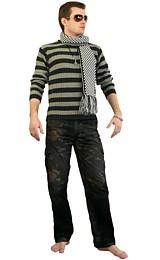 крючком * мужской * мужской крючком * мужской свитер * мужской свитер...