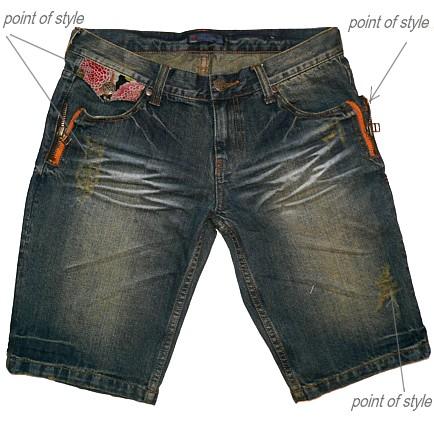 Мужские джинсовые шорты.  Мужской.