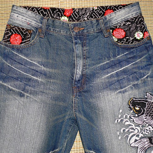 джинси з малюнками